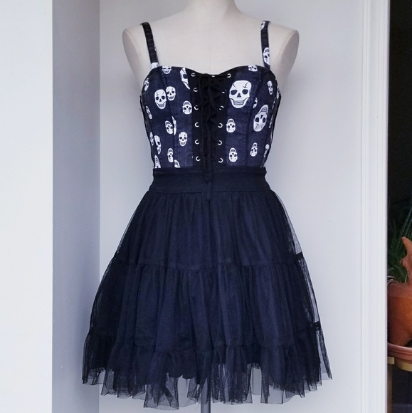 855548dff9 Royal Bones Tutu Skull Dress. M 5b4b8467c2e9fe7b501b67b7